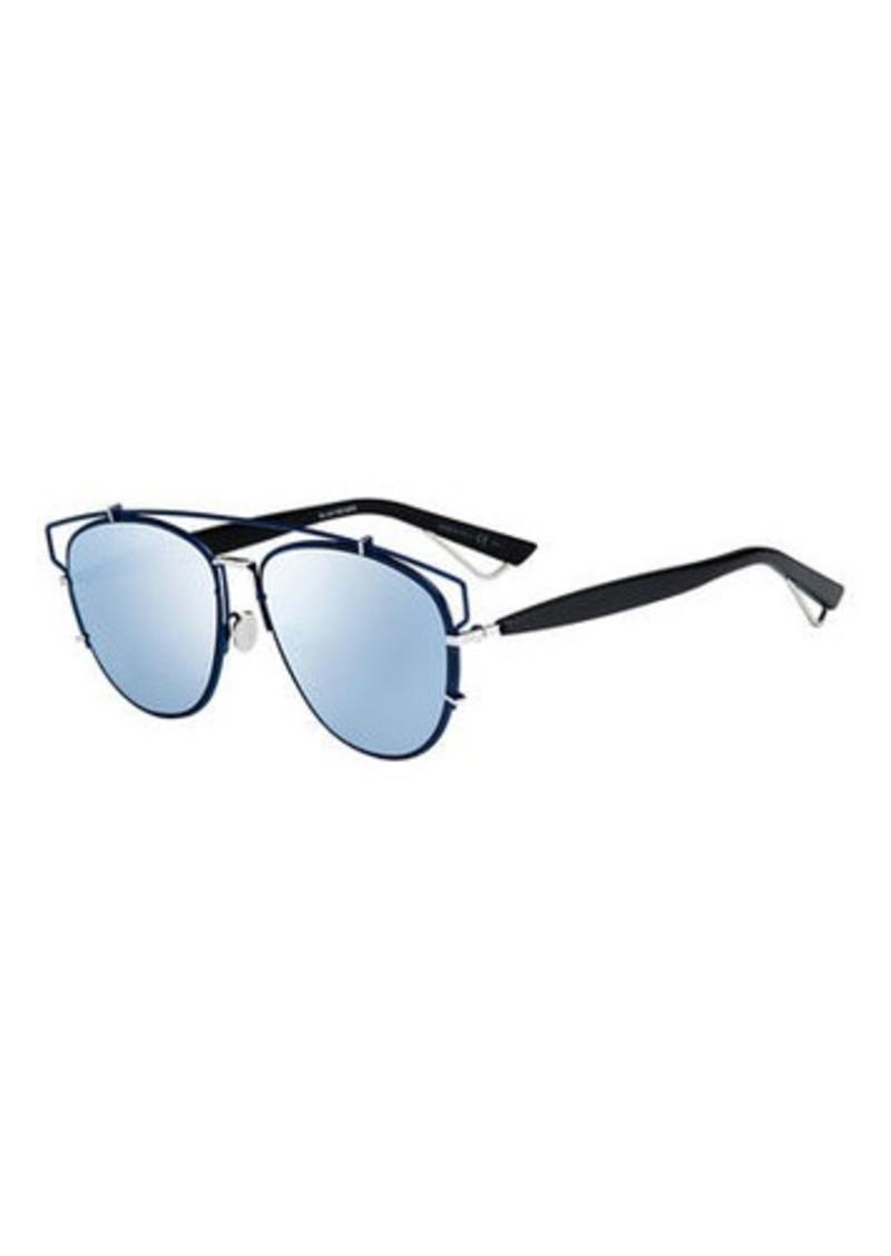 Christian Dior Technologic Cutout Aviator Sunglasses   Sunglasses 8393a80f9f66