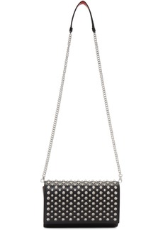 Christian Louboutin Black Paloma Spikes Clutch