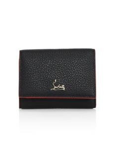 Christian Louboutin Boudoir Mini Tri-Fold Wallet