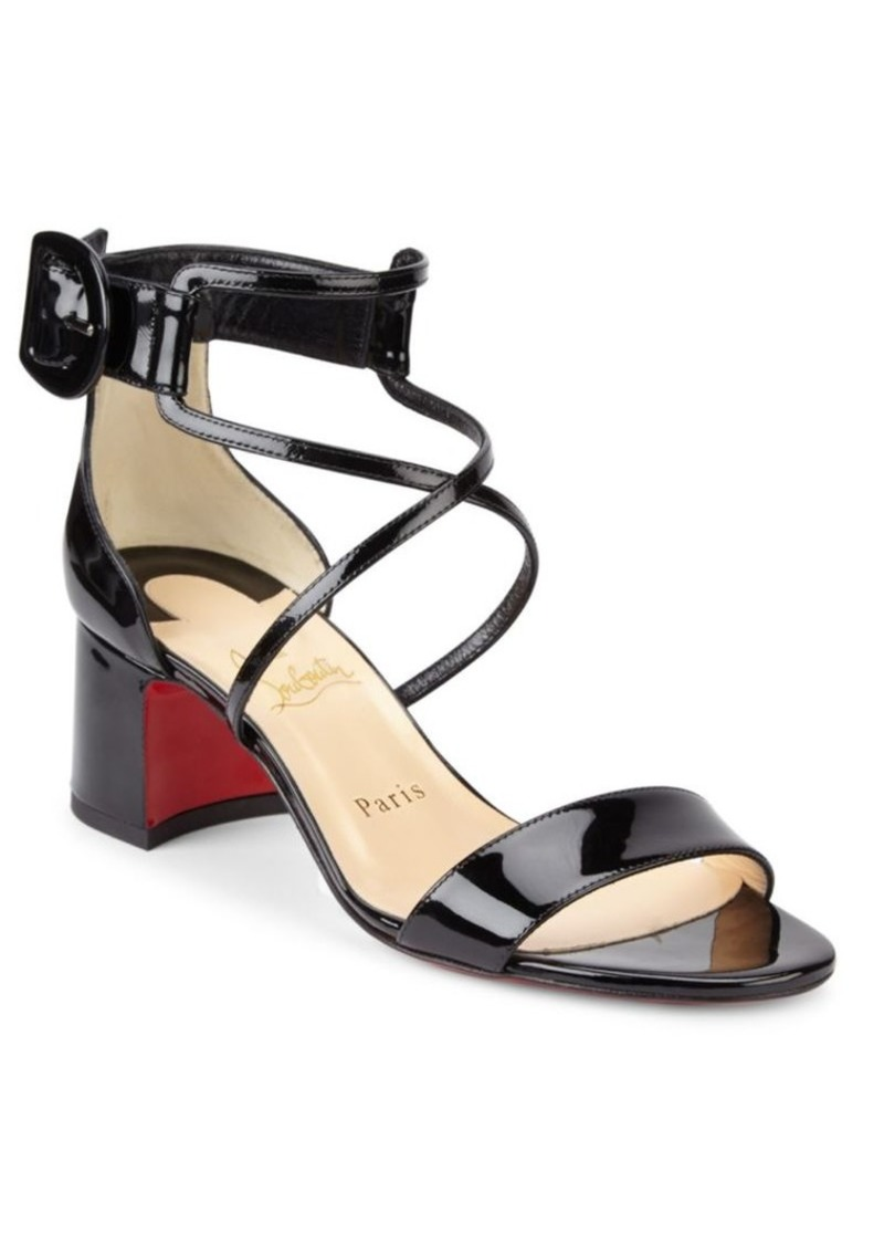 outlet store sale d6c09 e6f2b Choca 55 Patent Leather Sandals
