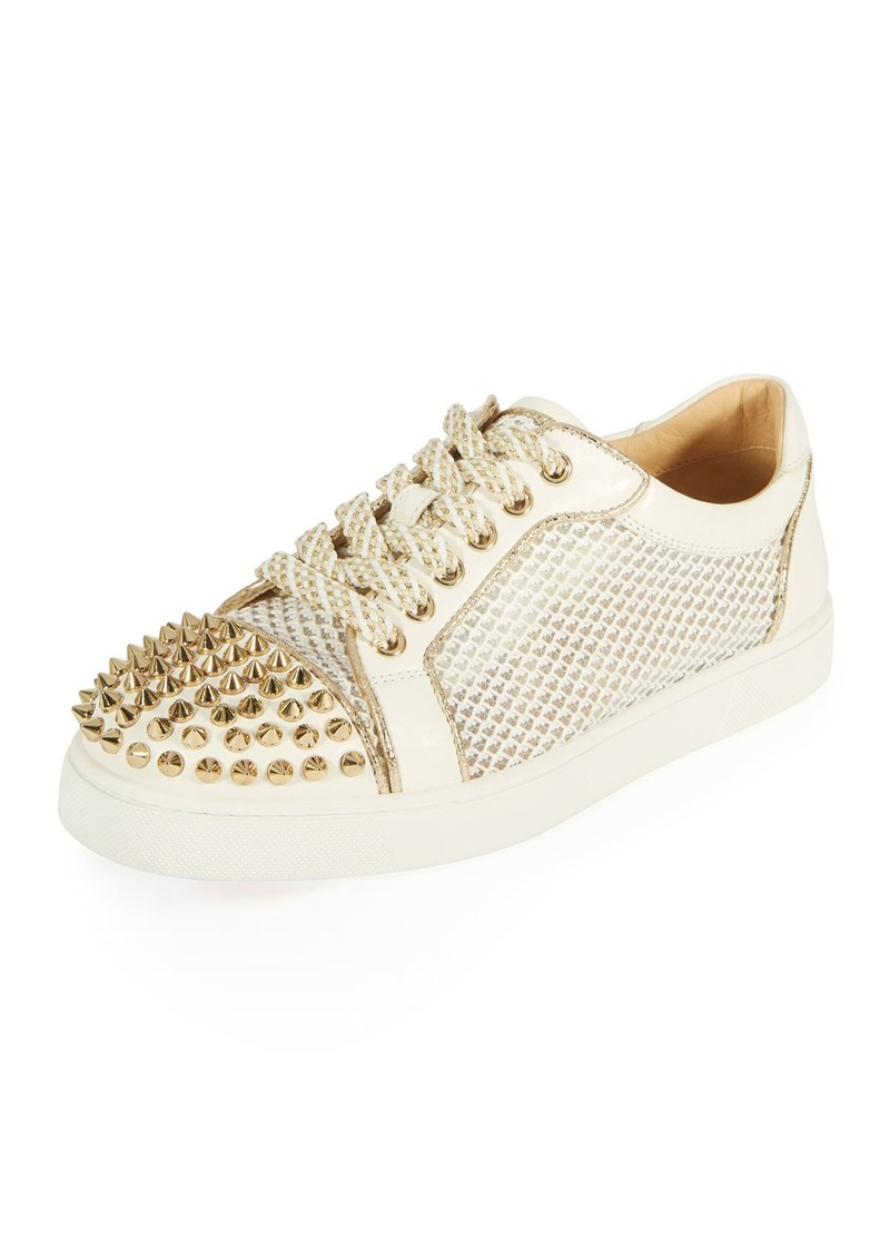 8e25a592af6f Christian Louboutin Christian Louboutin AC Viera Spikes Red Sole Low ...