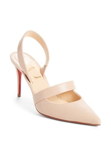 Christian Louboutin Actina Slingback Pointy Toe Pump (Women)
