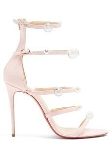 Christian Louboutin Antonana 100 patent-leather sandals