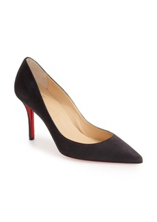 Christian Louboutin Apostrophy Pointy Toe Pump
