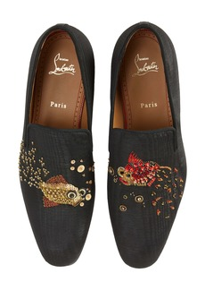 Christian Louboutin Aqualac Beaded Loafer (Men) (Nordstrom Exclusive Color)