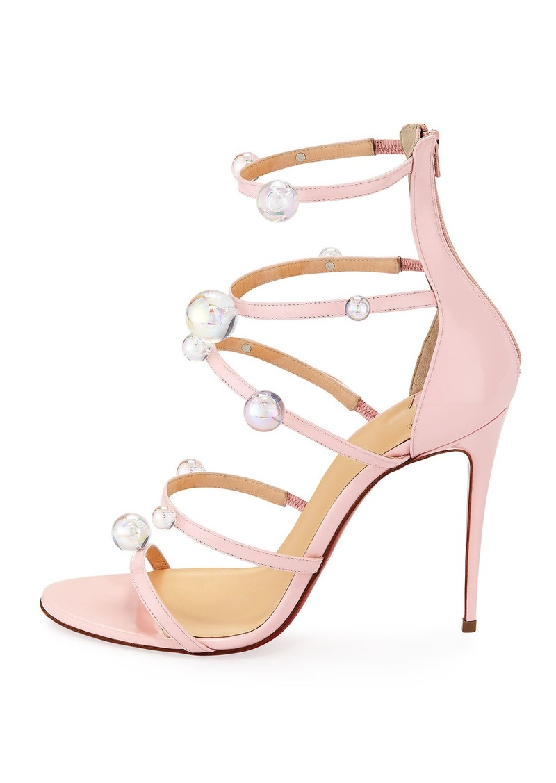 competitive price a800d 9c85b Christian Louboutin Christian Louboutin Atonana Patent Strappy Red Sole  Sandal | Shoes