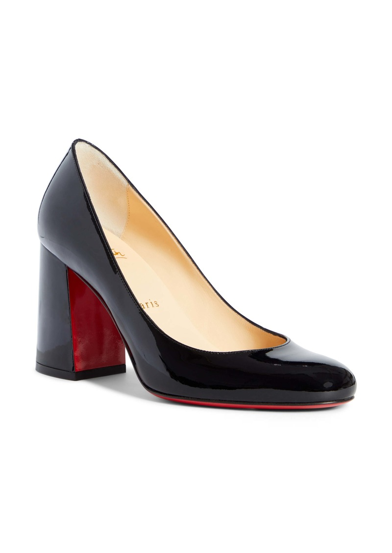 Christian Louboutin Baobab Block Heel Pump (Women)