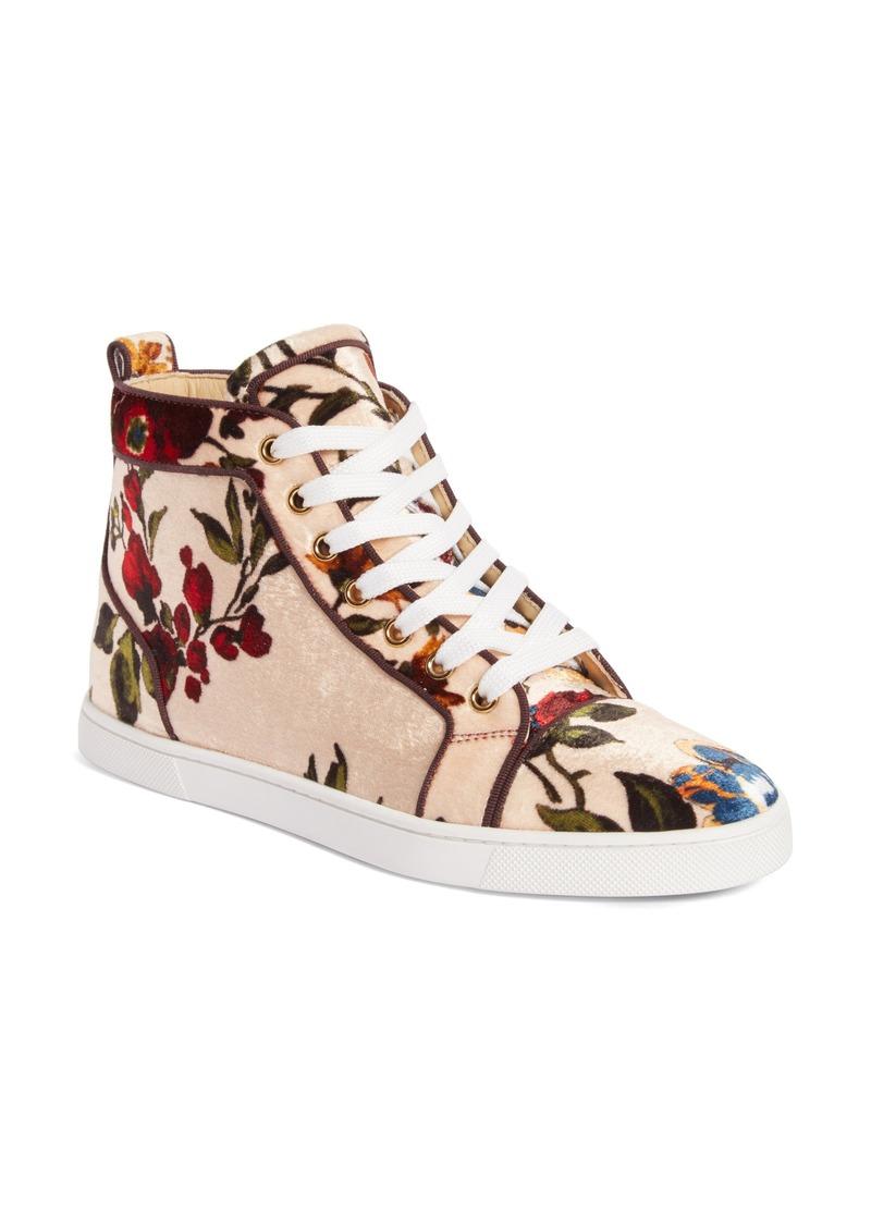 promo code 3462d 93d63 Christian Louboutin Christian Louboutin Bip Bip Floral Sneaker (Women) |  Shoes
