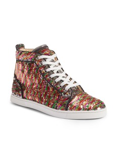 Christian Louboutin Bip Bip High Top Sneaker (Women)