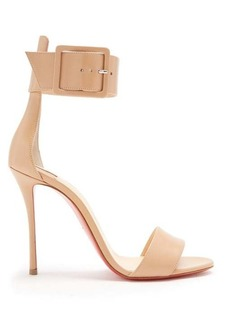 Christian Louboutin Blade Runana 100 leather sandals
