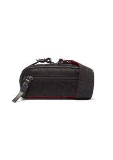 Christian Louboutin Blaster monogram-embossed canvas cross-body bag