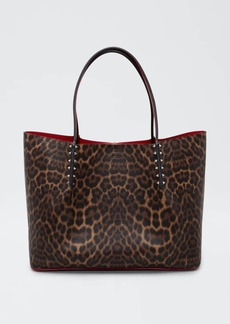 Christian Louboutin Cabarock Leopard-Print Large Shopper Tote Bag