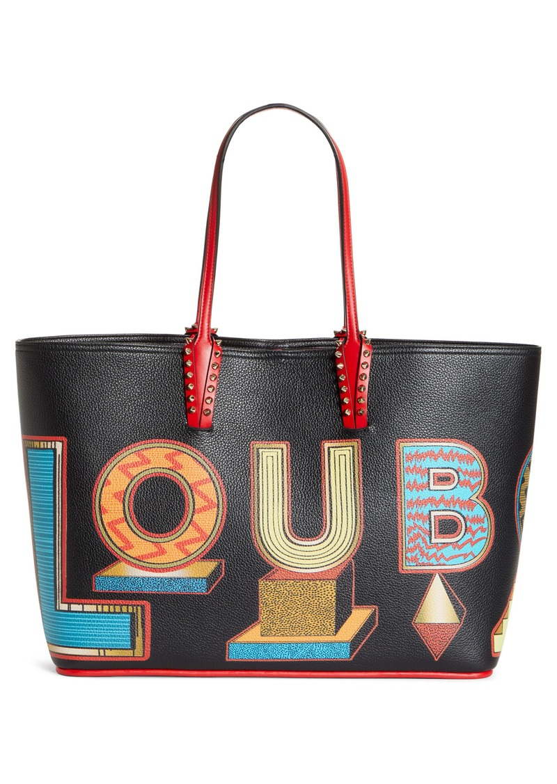 Christian Louboutin Cabata Alphabet Leather Tote (Nordstrom Exclusive)