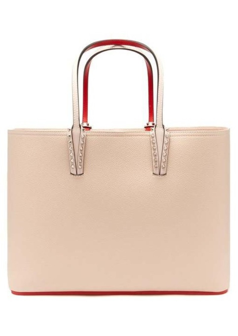 Christian Louboutin Cabata grained-leather tote