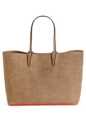 Christian Louboutin Cabata Lizard Embossed Leather Tote