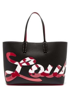 Christian Louboutin Cabata PVC logo leather bag