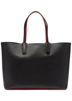 Christian Louboutin Cabata spike-embellished leather tote