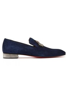 Christian Louboutin Captain Colonnaki suede loafers