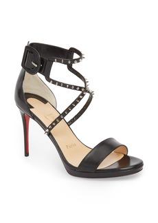 Christian Louboutin Choca Lux Spiked Sandal (Women)