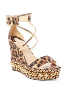 Christian Louboutin Chocazeppa Ornament Platform Wedge Sandal (Women)