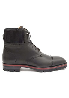 Christian Louboutin Citycroc leather lace-up boots