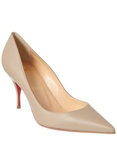 Christian Louboutin Clare 80 Leather Pump
