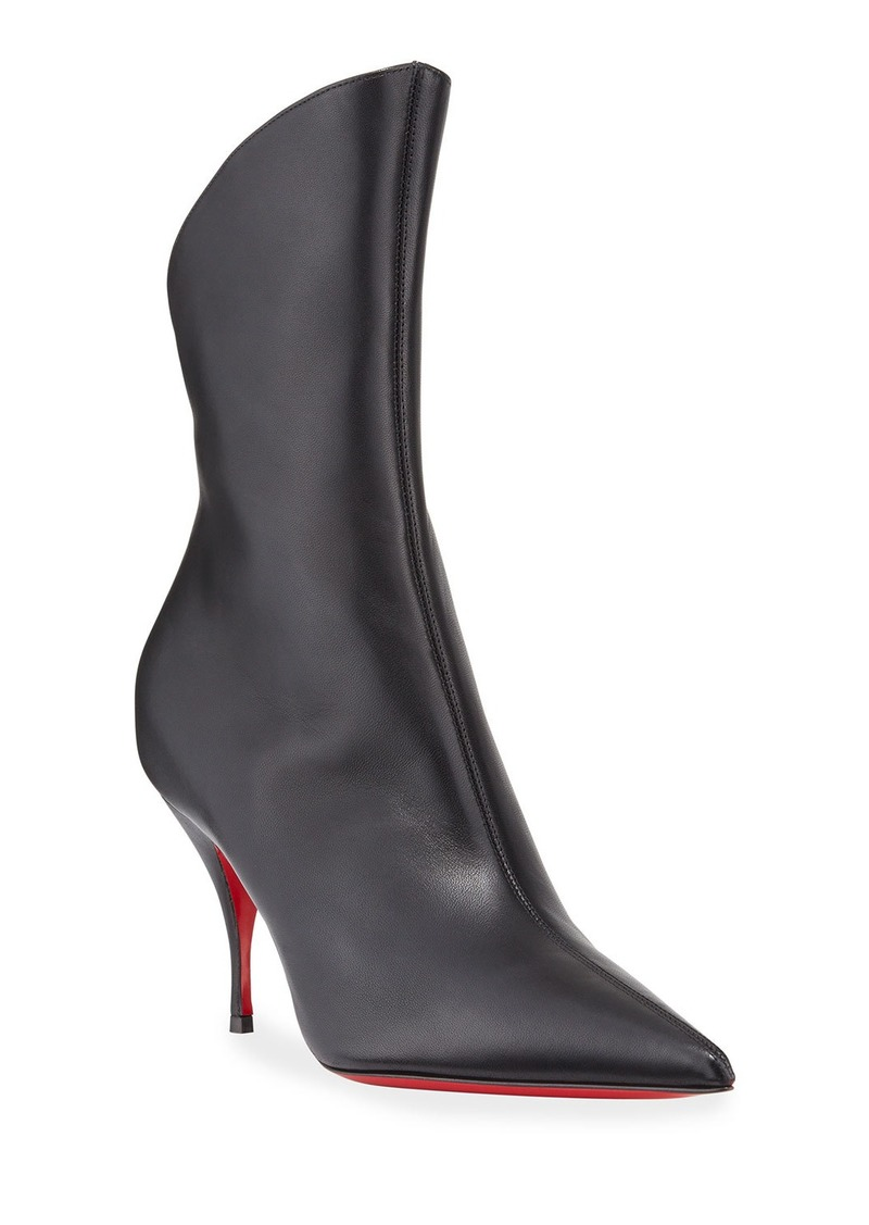 promo code e161f 48d3f Clare Pointed-Toe Red Sole Booties