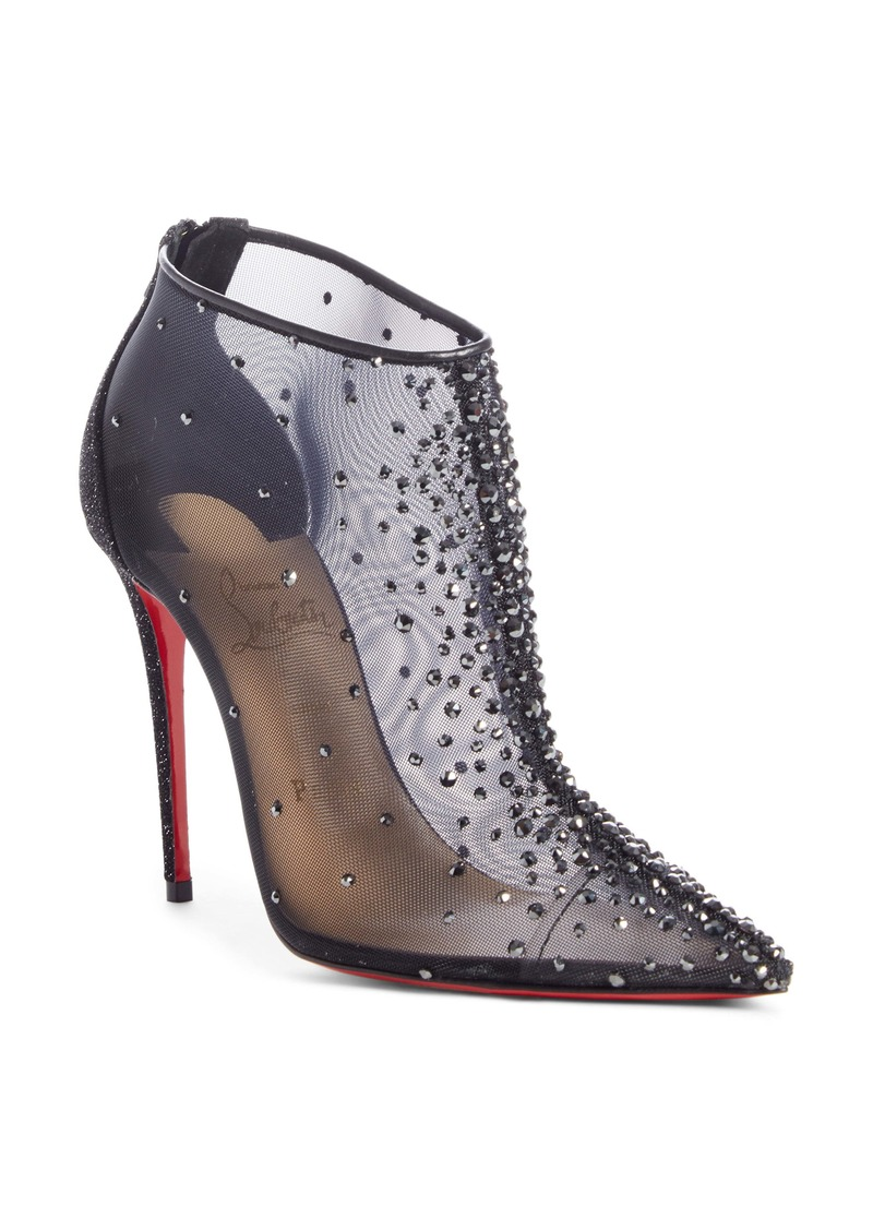 Christian Louboutin Constella Crystal Mesh Bootie (Women)