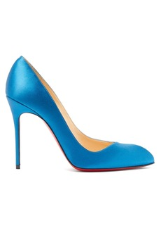Christian Louboutin Corneille 100 satin pumps