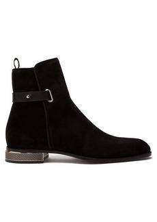 Christian Louboutin Cortino metal-heel suede boots
