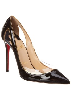 IRIZA 100 SilverBlack Lurex Women Shoes Christian Louboutin