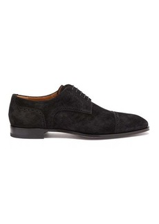 Christian Louboutin Cousin Charles suede derby shoes