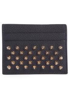 Christian Louboutin Credilou Calfskin Leather Card Case