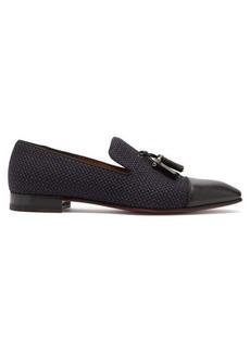 Christian Louboutin Dandelion tassel-embellished leather loafers