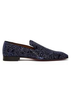 Christian Louboutin Dandelion velvet loafers