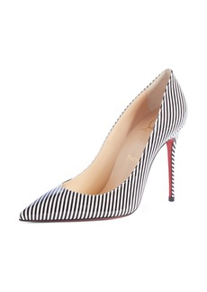 Christian Louboutin Decolette Stripe Pump (Women)
