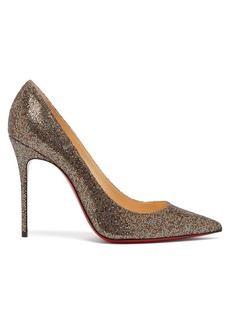 Christian Louboutin Decollete 100 metallic pumps