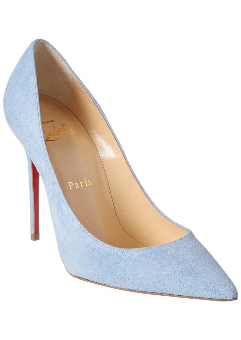 Christian Louboutin Decollette 554 100 Suede Pump