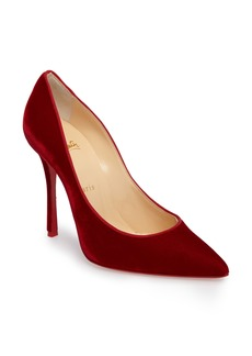 Christian Louboutin Decoltish Velvet Pump (Women)