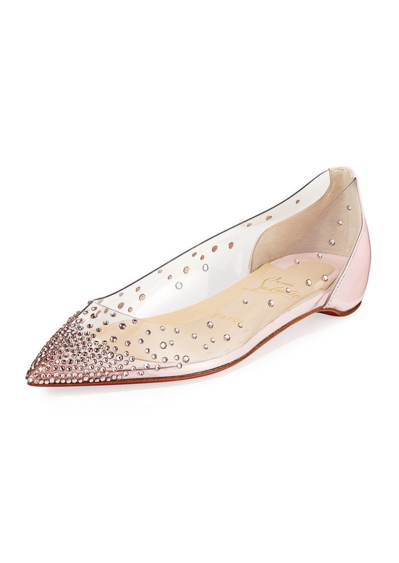8514121a8f2 Christian Louboutin Christian Louboutin Degrastrass Red Sole Ballet ...