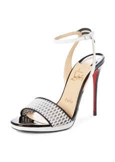 Christian Louboutin Discoport Textured Sandal (Women)