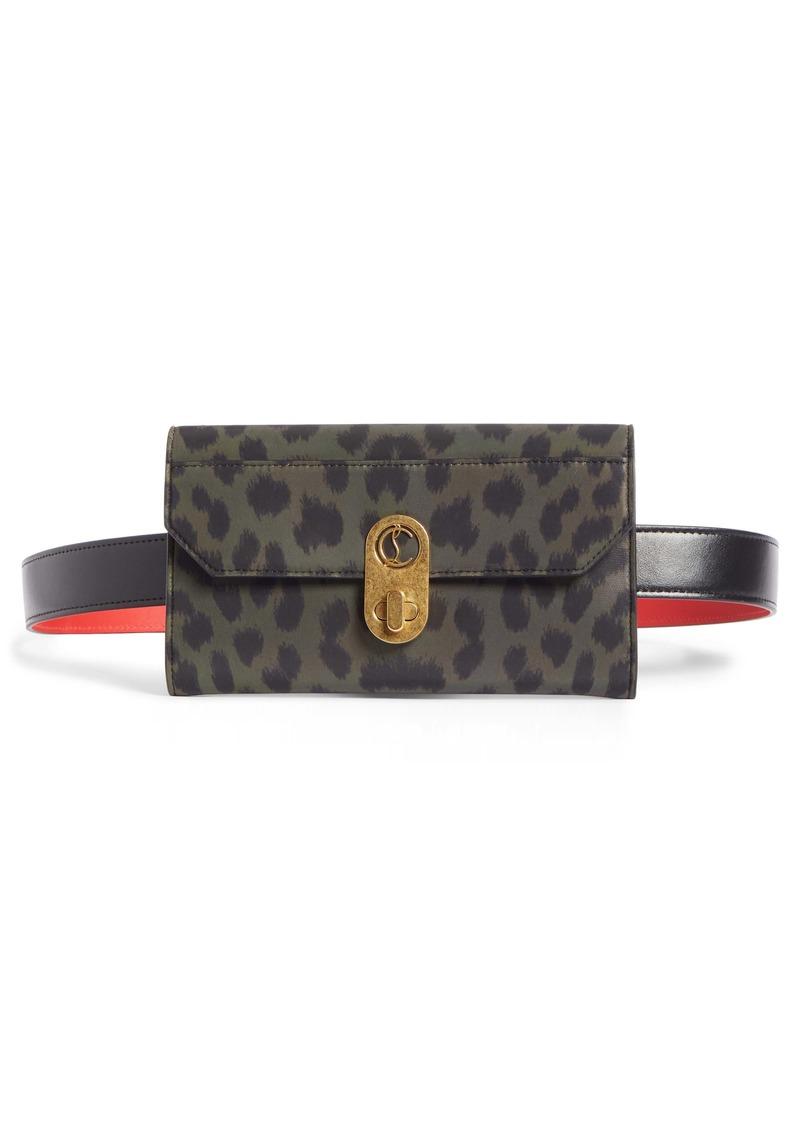 Christian Louboutin Elisa Nylon Belt Bag