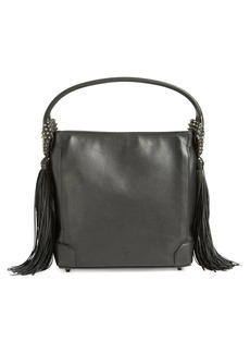Christian Louboutin 'Eloise Empire' Studded Calfskin Leather Hobo