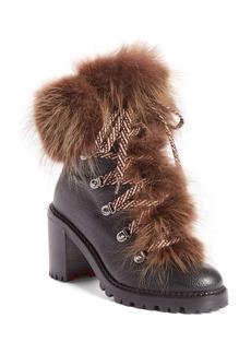 Christian Louboutin Fanny Genuine Fur Boot (Women)