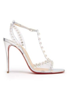 Christian Louboutin Faridaravie 100 bubble-bead leather sandals