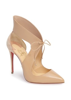Christian Louboutin Ferme Rouge Pointy Toe Pump (Women)