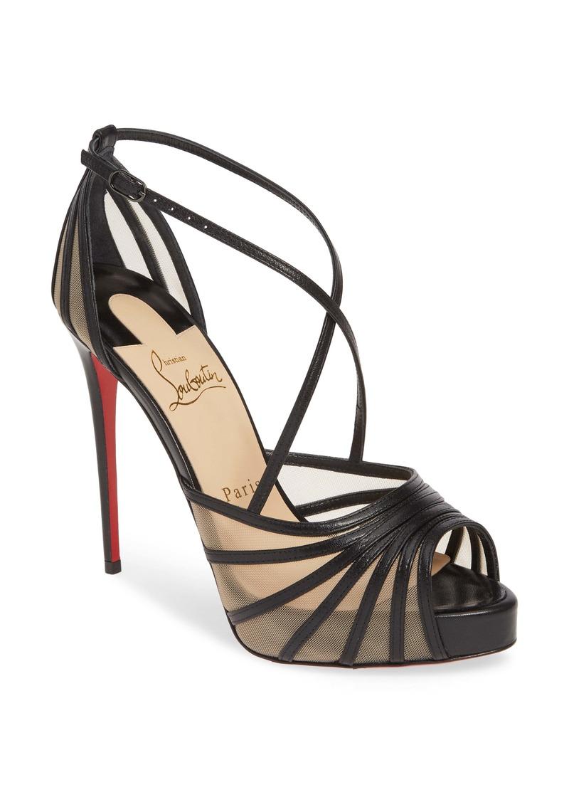 Christian Louboutin Filamenta Strappy Platform Sandal (Women)