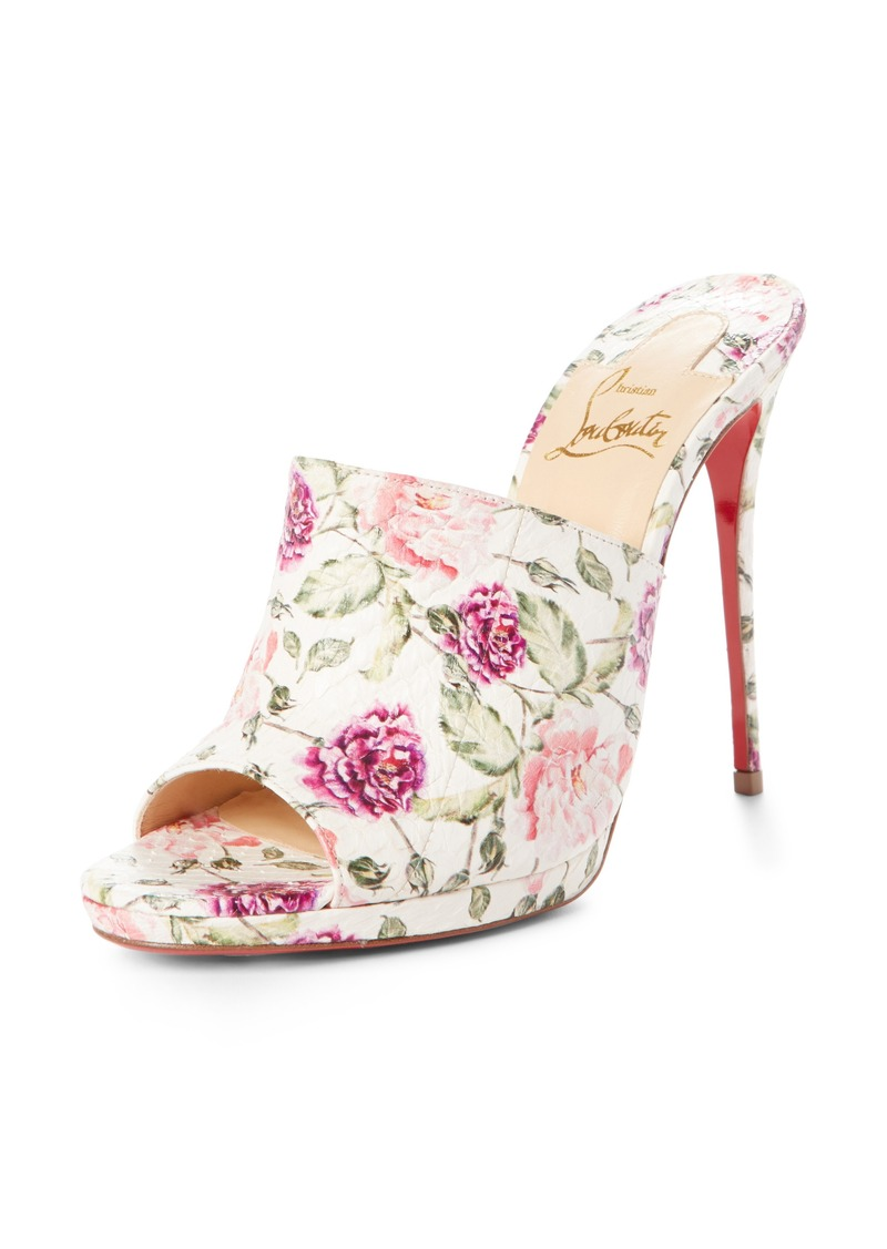 cb2ff26a93a8 Christian Louboutin Christian Louboutin Floral Pigalle Genuine ...