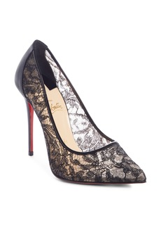 Christian Louboutin Follies Alençon Lace Pump (Women)