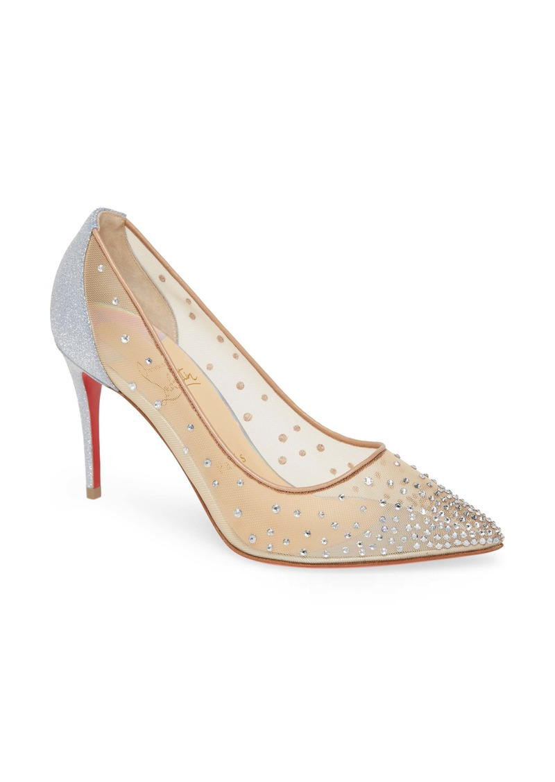 Christian Louboutin Follies Crystal Pump (Women)